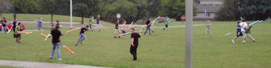 Science Hill High School Mediæval                                 Battle Association